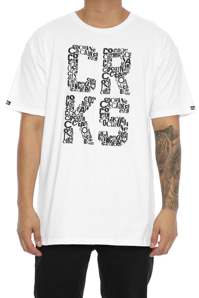 Crooks & Castles La Coca Tee White