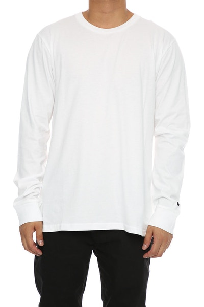 Carhartt Base Long Sleeve Tee White/Black