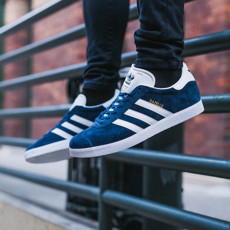on sale dbe3a 216e9 Adidas Originals Gazelle Navy White BB5478 Culture Kings