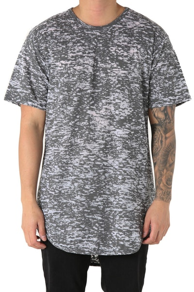 EPTM Burn Out OG Long Tee Tiger Grey