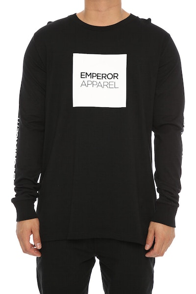 Emperor Apparel Tech Long Sleeve Tee Black