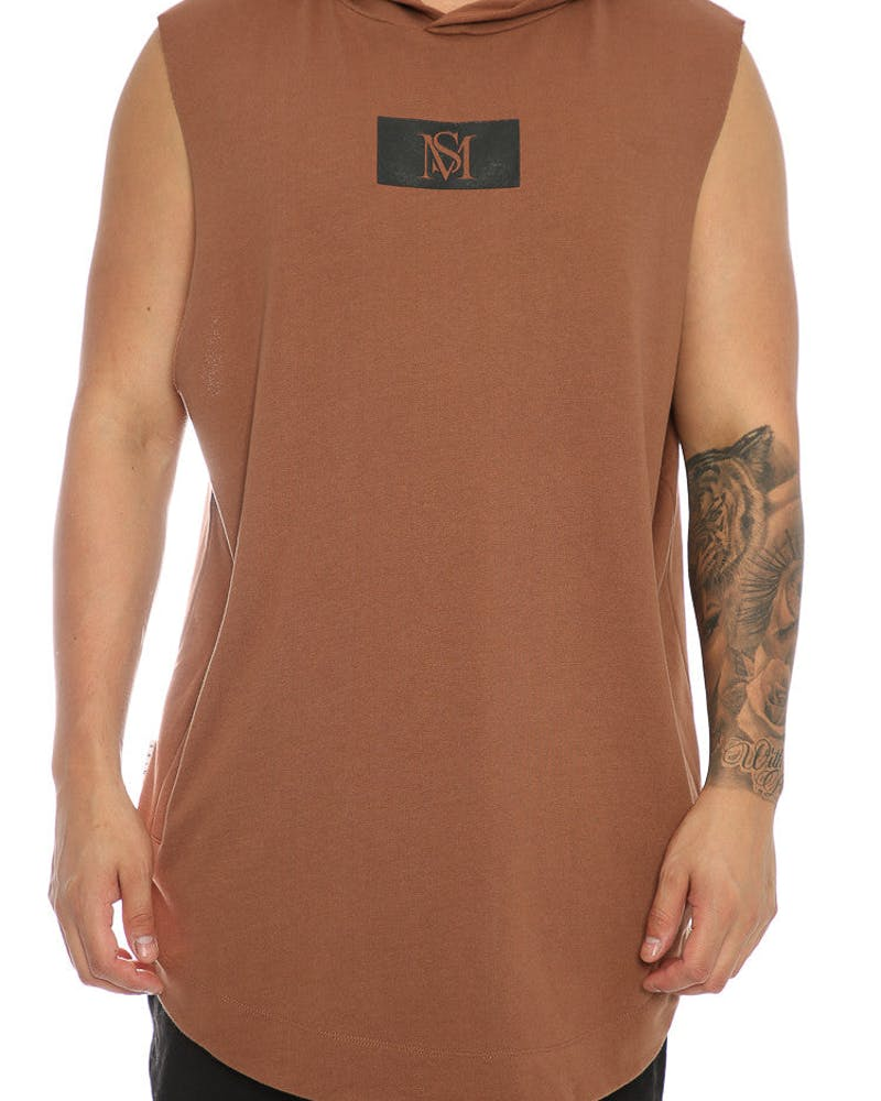 Saint Morta Logo Coven SS Hood Brown