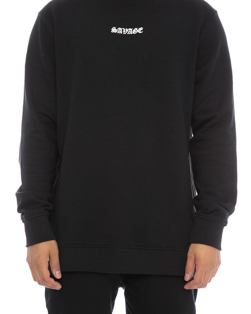 Goat Crew Savage Crewneck Black