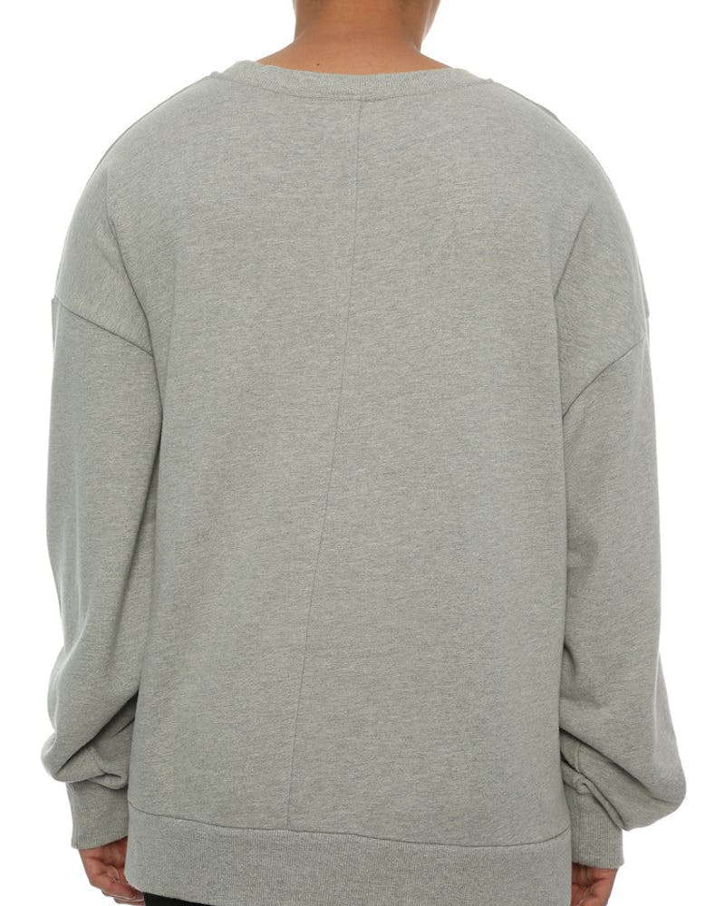 Saint Morta Cobain Oversized Sweater Grey