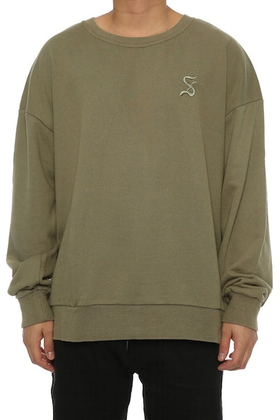 Saint Morta Gothic Oversized Sweater Pale Green