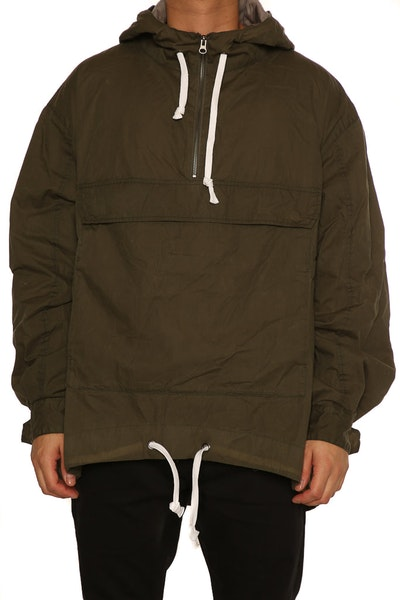 Saint Morta Wither Anorak Washed Olive