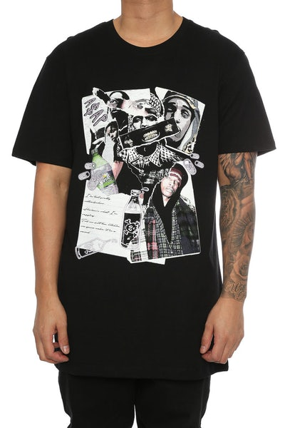GOAT CREW ASAP COLLAGE TEE BLACK