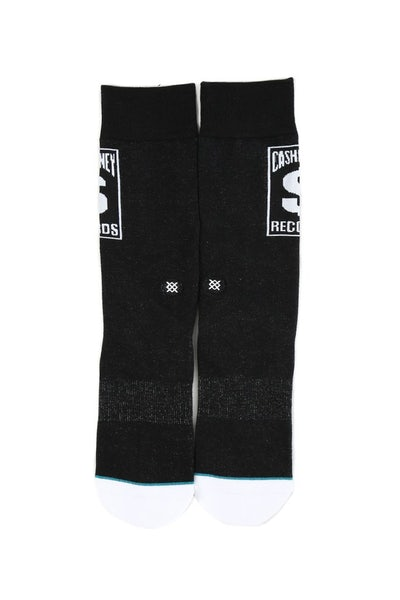 Stance Cash Money Sock Black/White