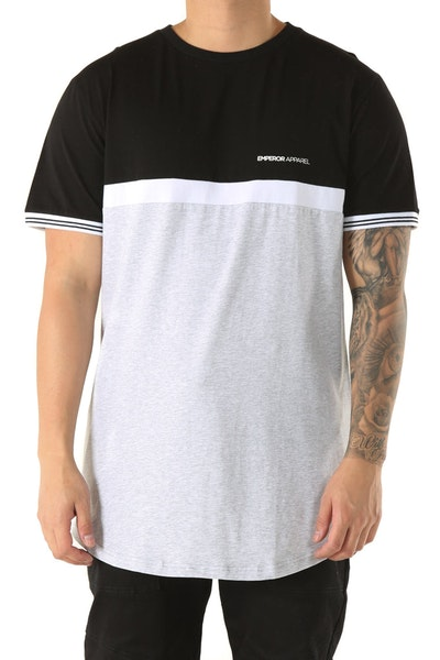 Emperor Apparel Pole Tee Black/Grey/White