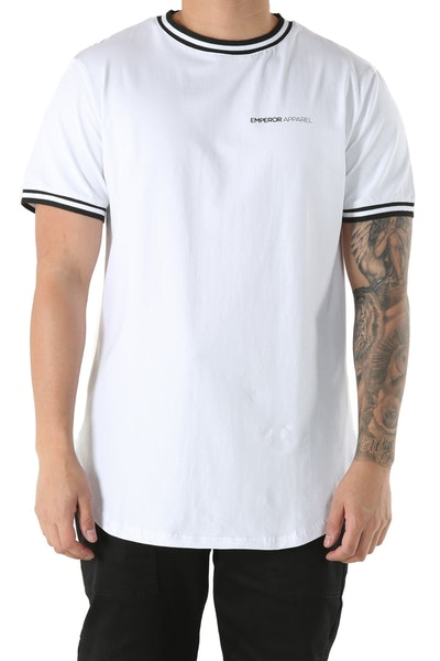 Emperor Apparel Illusion Tee White/Black