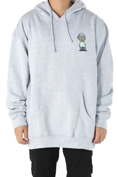 The Hundreds x MF Doom Villy Pullover Heather Grey