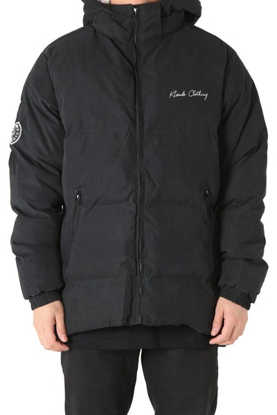 Kloude Clothing ZHU Puffer Jacket Black