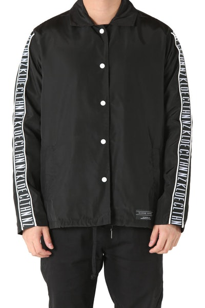 Kloude Clothing Leisure Coach Jacket Black