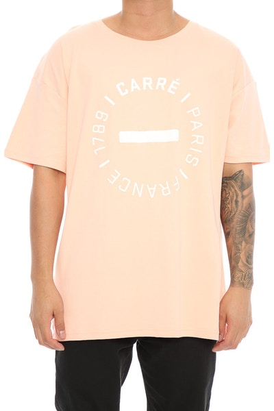 Carré Turn Terreux Tee Peach