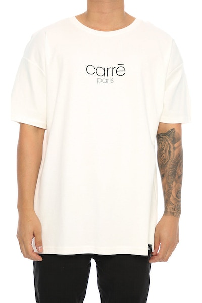 Carré Mileu Terreux Tee Off White