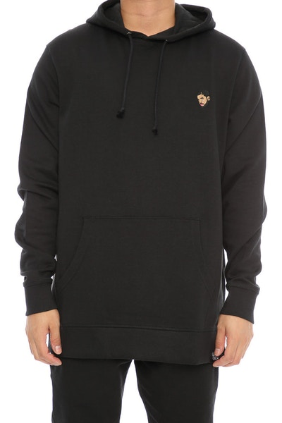 Goat Crew 6 Woes Embroidered Hood Black