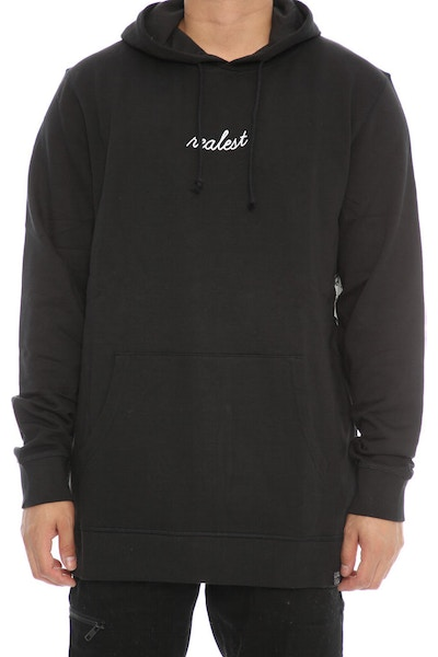 Goat Crew Realest Embroidered Hood Black