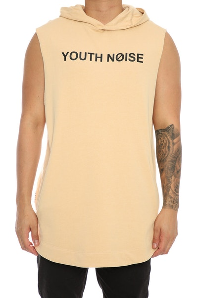 Saint Morta Youth Noise Coven SS Hood Beige