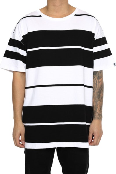 Well Made Chamberlain Tee White/Black