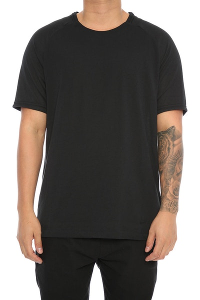 Nike Bonded Cotton Sleeve Tee Black