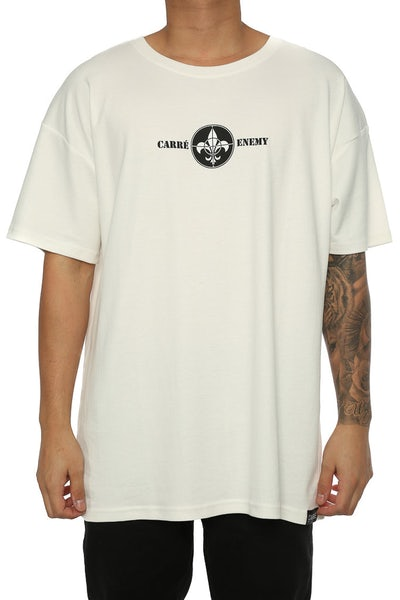 Carré Enemy Terreux Tee Off White