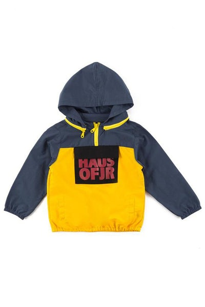 Haus Of JR Ian 2.0 Windbreaker Yellow/Navy