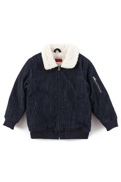 Haus Of JR Ken Aviator Jacket Indigo