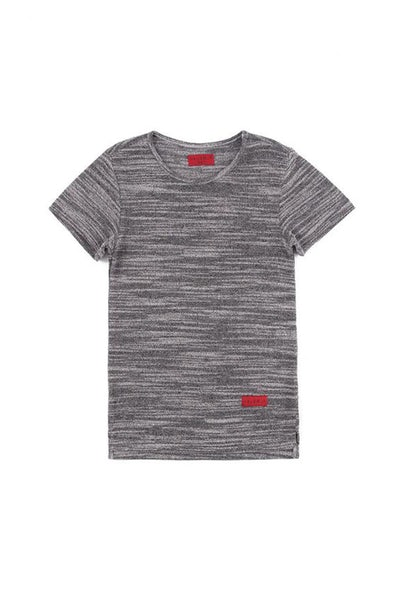 Haus Of JR Mark Hi-Lo Short Sleeve Tee Graphite