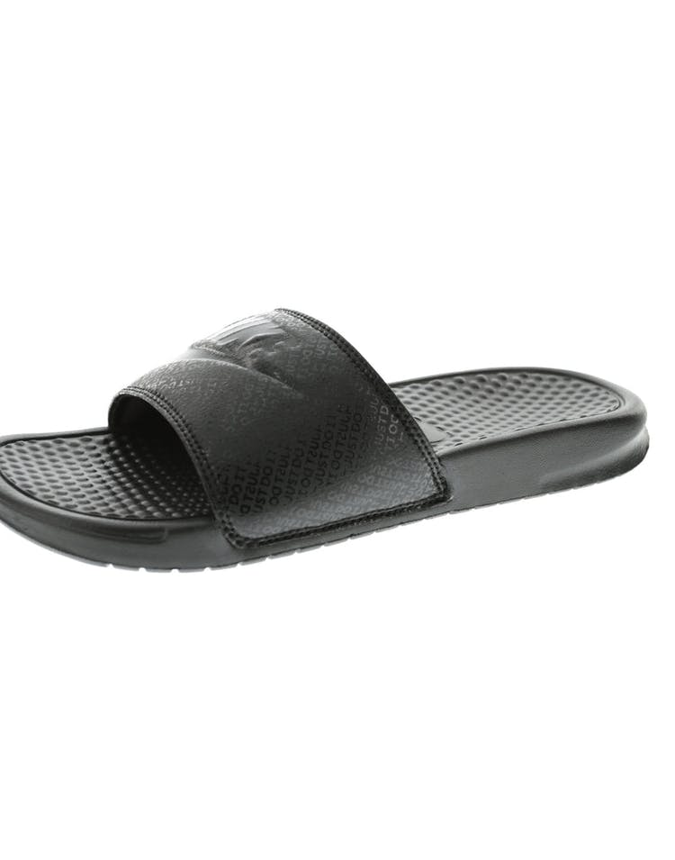 the latest b9fd0 69fcc Nike Benassi JDI Black Black Black   343880 001 – Culture Kings