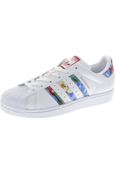 Adidas Originals Women's Superstar White/Multi-colour