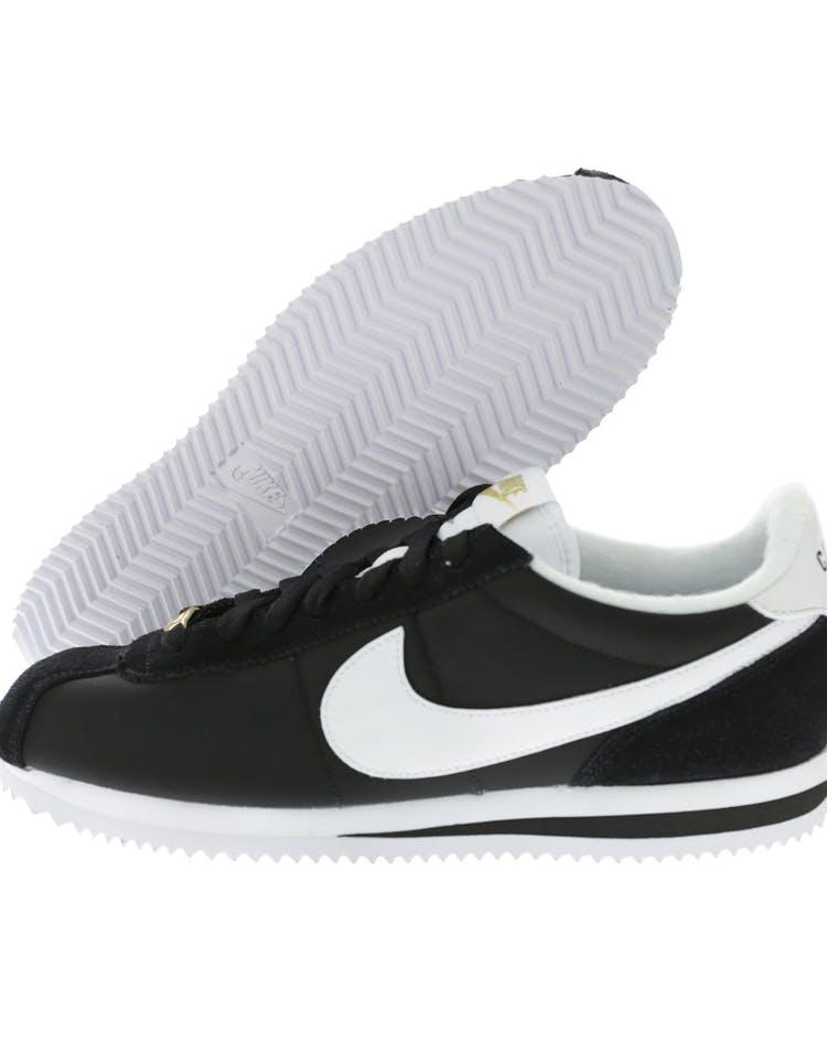 official photos c5398 3aa35 Nike Cortez Basic Nylon Premium Black/White