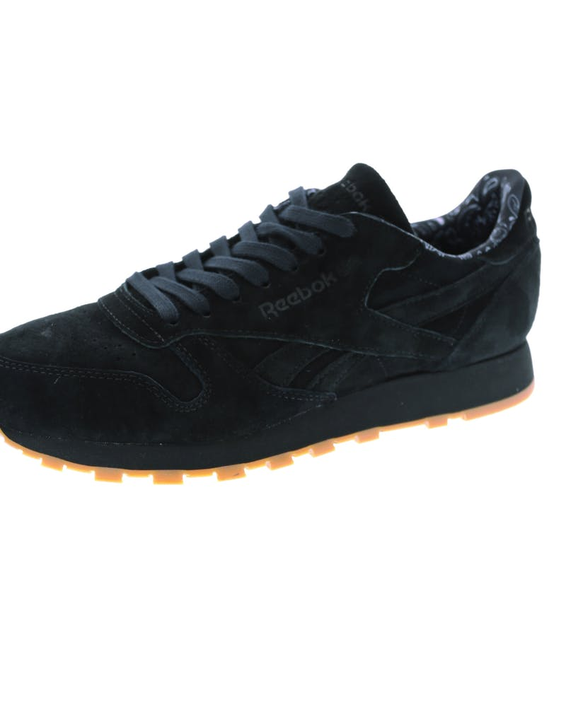 Reebok CL Leather TDC Black/White/Gum