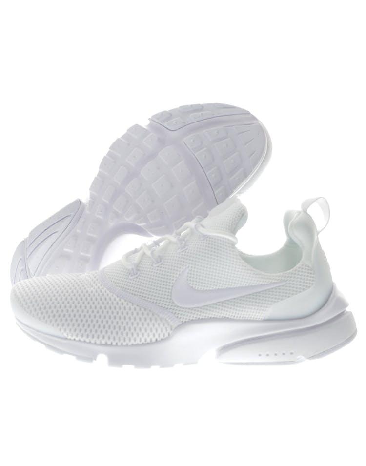 huge selection of 84727 e2c85 Nike Women's Presto Fly White/White