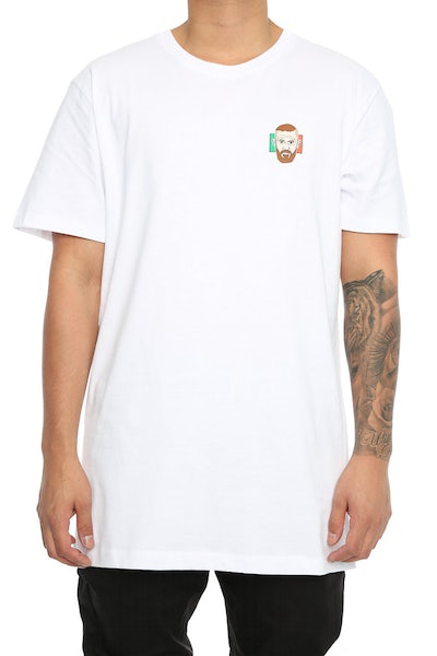 Goat Crew Notorious Mini Head Tee White