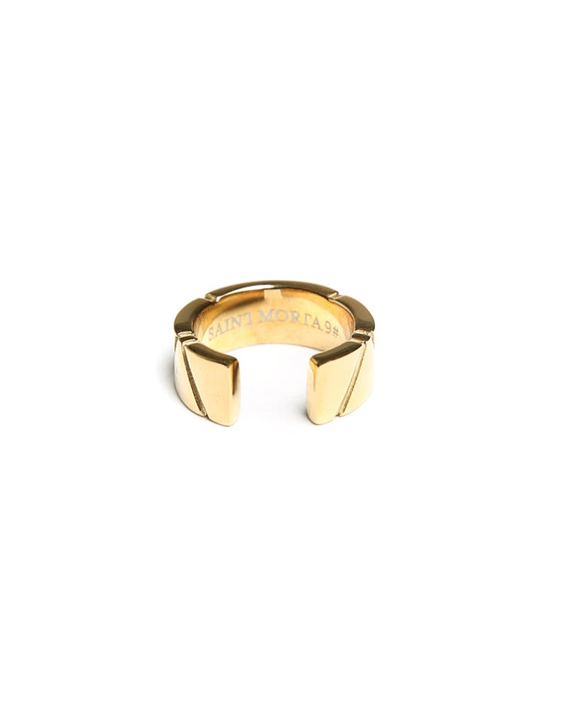 Saint Morta Dissection Ring Gold