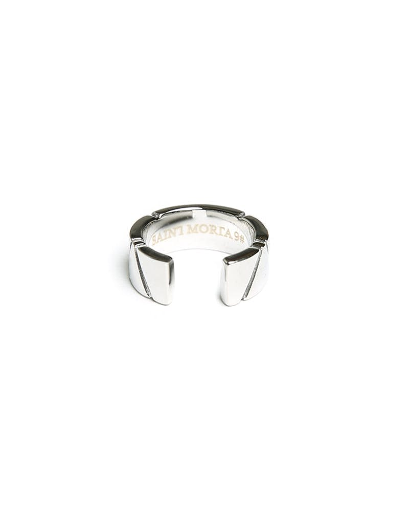 Saint Morta Dissection Ring Silver