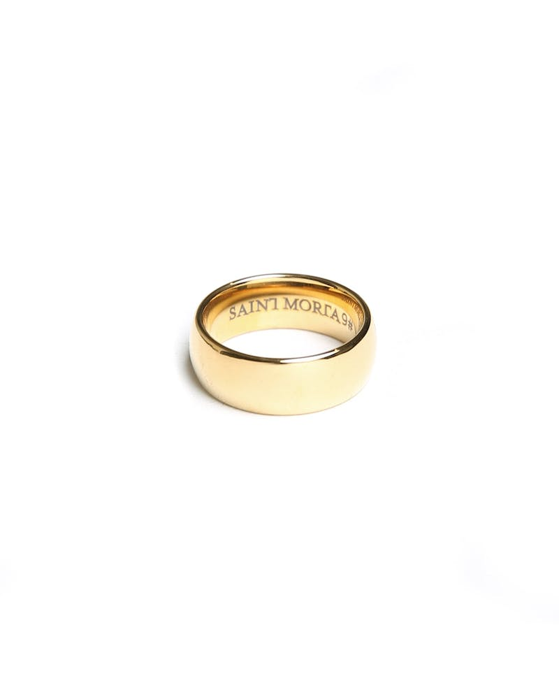 Saint Morta Continuum Ring Gold