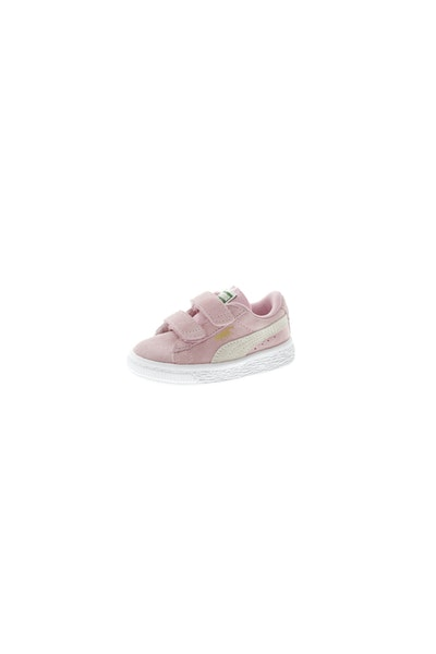 Puma Infant Suede 2 Straps Pink/White