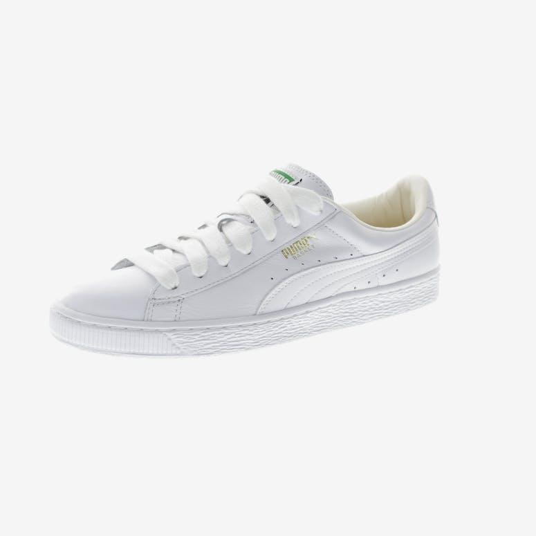 Puma Basket Classic LFS White White e17ad82c2