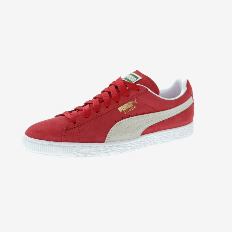 Puma Suede Classic + Red White – Culture Kings bcb227924