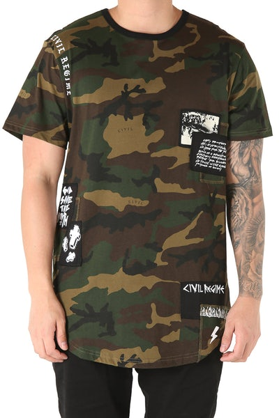 Civil Regime Zayne Anti Drop Tee Camo