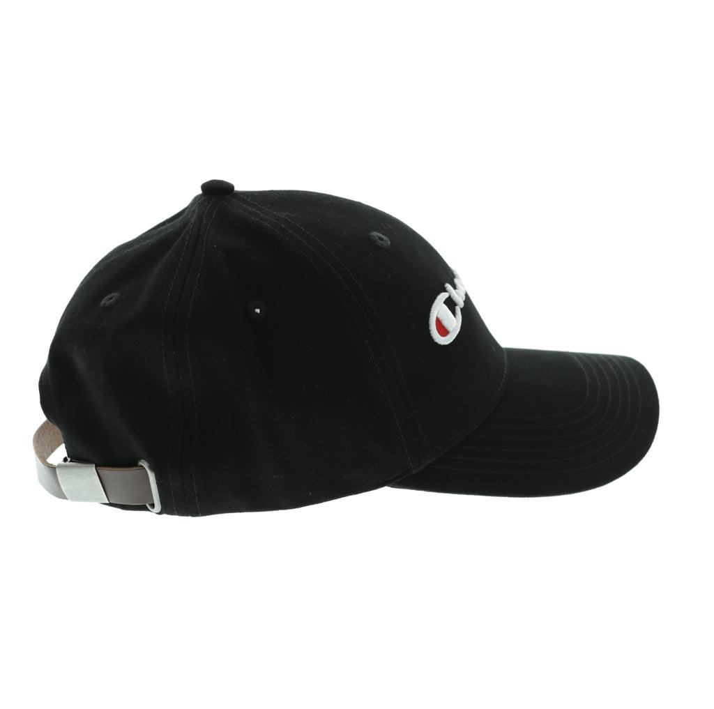 Baseball Cap With Logo In Black - Black Champion TkJI5