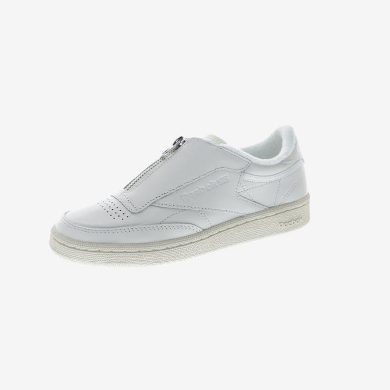 f3999efa78b Reebok Women s Club C 85 Zip Off White White