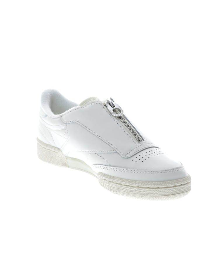 f1711390543ab Reebok Women s Club C 85 Zip Off White White