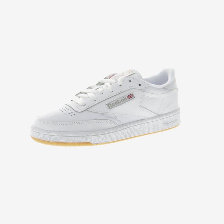 892b1d163de8 Reebok Women s Club C 85 White Grey Gum