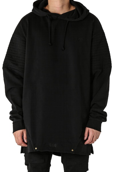 Saint Morta Lost Biker Hood Black