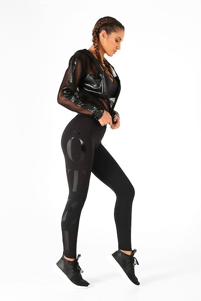 Ötzi Glaze Colossal Tights Black