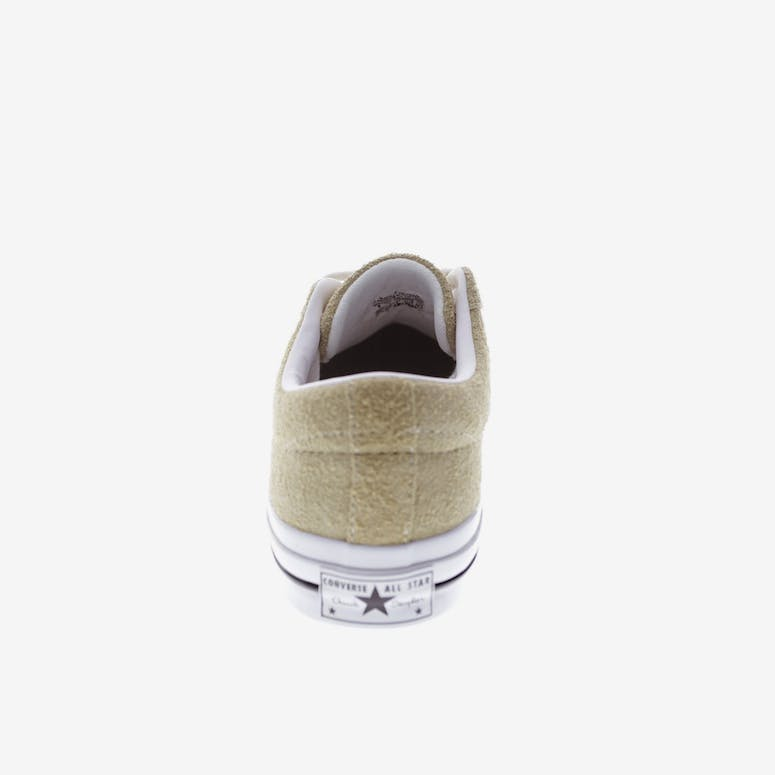 a424bbf9d3a0 Converse One Star Vintage Suede Khaki White