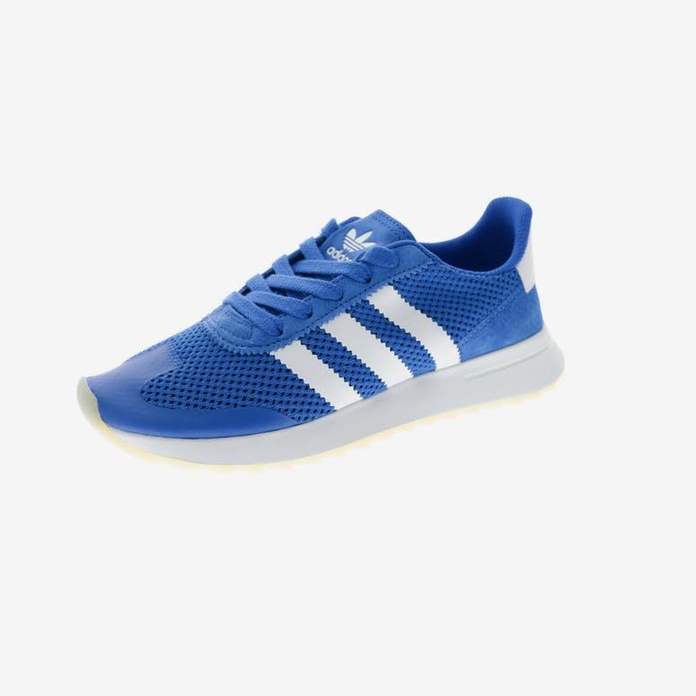 Adidas Originals Women s Flashback Blue White Gum  b4eab731b