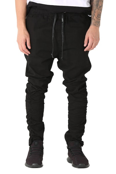 Saint Morta Sneaker Pant Black